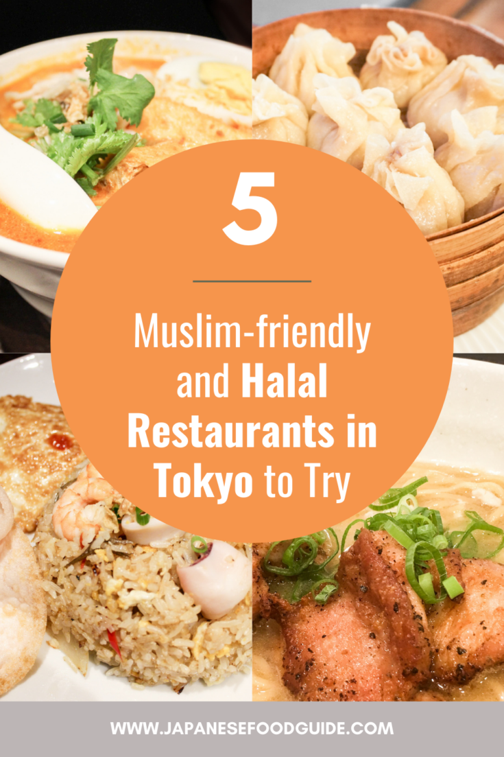 Pin for this post - Halal Restaurants in Tokyo